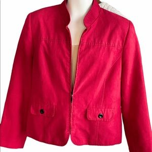 Alfred Dunner Micro Suede Blazer!